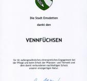 Ehrenamt-Auszeichnung 2018