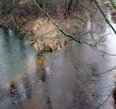 Hummertsbach: Westumer Landstr. Nähe Regenwasser-Rückhaltebecken