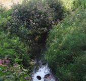 Hummertsbach: Westumer Landstr. am Regenwasser-Rückhaltebecken